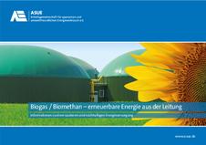 Biogas/Biomethan - erneuerbare Energie aus der Leitung